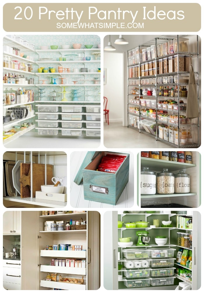 Kitchen Pantry Diy Projects: 20 Perfect Pantry Ideas
