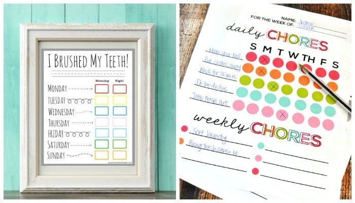 10 Creative Chore Charts Printables For Kids Somewhat