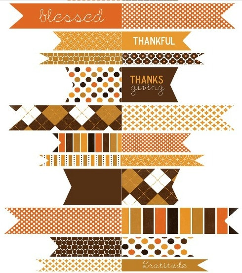 graphic about Free Printable Thanksgiving Tags named Cost-free Printable Thanksgiving Tags [ 1 Velvet Early morning ]