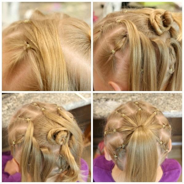 Spider Hair Collage 3