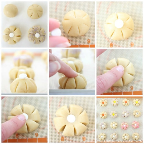 Sugar Cookie Flowers