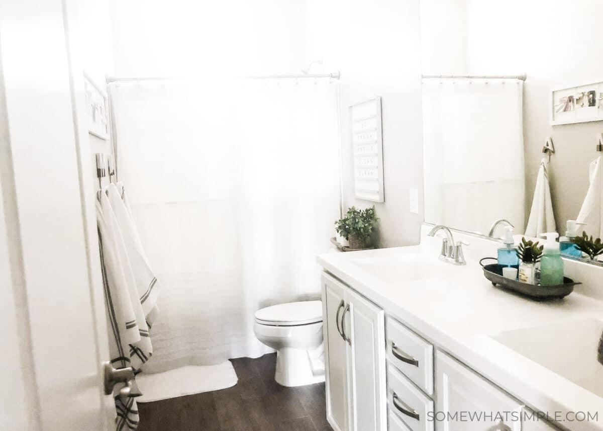 Kid's Bathroom Decor Ideas   from Somewhat Simple on Fun Bathroom Ideas  id=37254