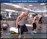 upper body Weight Training Video