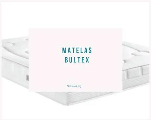 Avis Matelas Bultex Test Et Prix De La Literie En Mousse Bultex