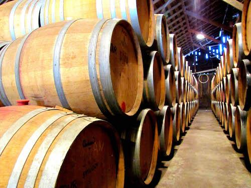Aging wine in Oak Barrels after Fermentation - Winemaking 101