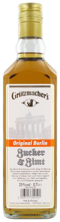 Grützmachers Zucker & Zimt Likör