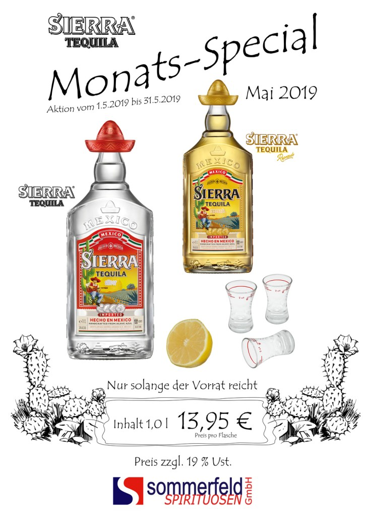 Monats-Special Sierra Mai 2019