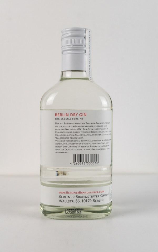 berliner brandstifter gin 350 ml