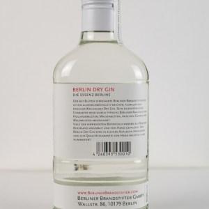 Berliner Brandstifter Dry Gin 0,35l