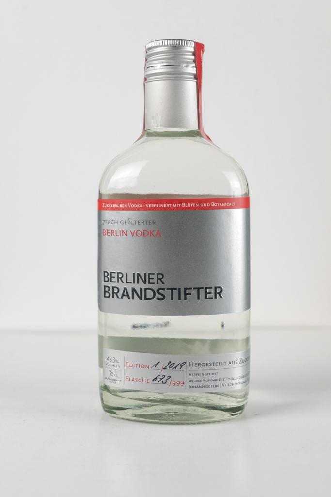 berliner brandstifter vodka 350 ml