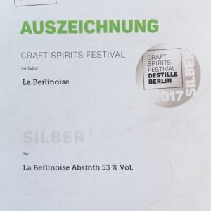 "La Berlinoise NR.4 – Absinth ""Las Villas"" aus Berlin 200 ml"