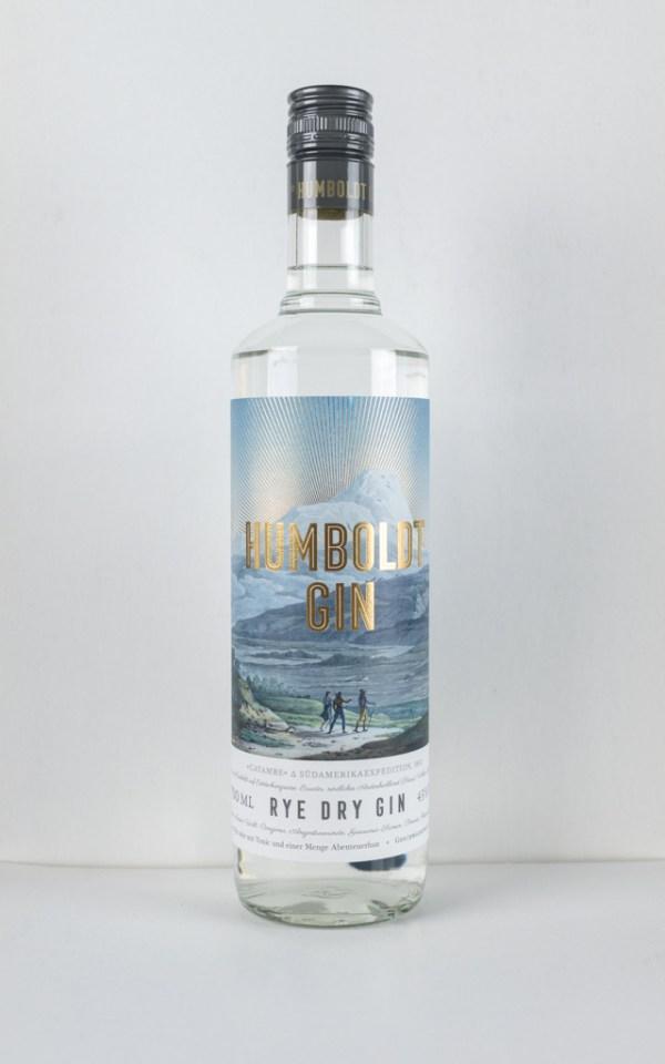 humboldt rys dry gin 700 ml
