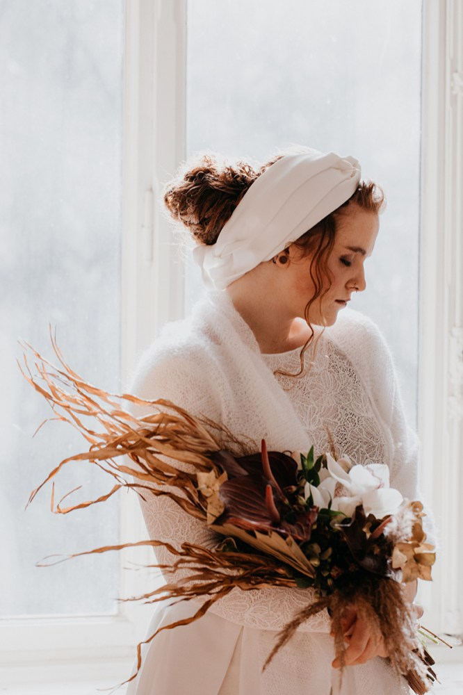 Styled Shoot Winter Bohemian Braut