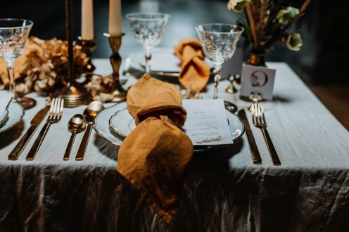 Styled Shoot Winter Bohemian Table