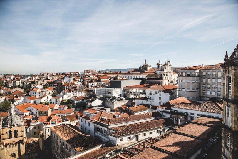 Coimbra Universität Ausblick