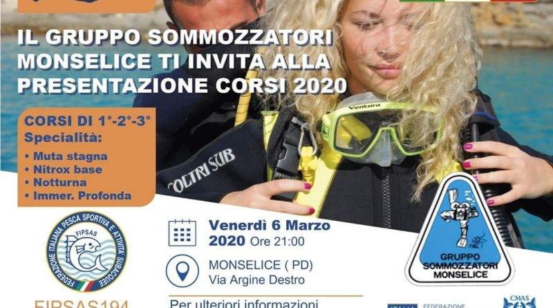 Venerdì 6 Marzo 2020: presentazione corsi