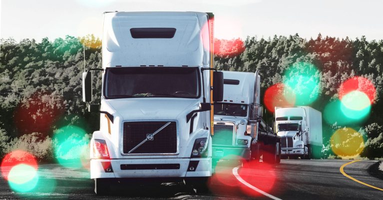 Delivering The Holidays: Truck Drivers & Sleep