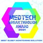 Medtech Breakthrough Award 2021 Best Sleep Monitoring Solution