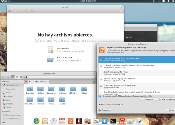 """Elementary OS con sus aplicaciones rediseñadas o creadas de cero, para seguir el estilo """"Elementary"""""""