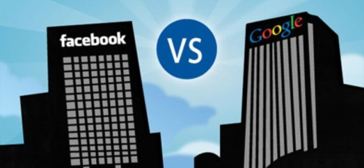Facebook parece que se enfrenta a Google, pero en realidad son dos caras de la misma política de monetización.