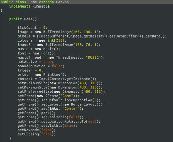 Ofuscando el siguiente codigo Java