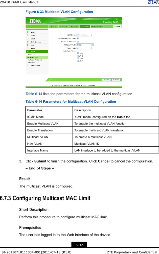 Manual de configuracion de multicast en router ZTE F660 pagina 2
