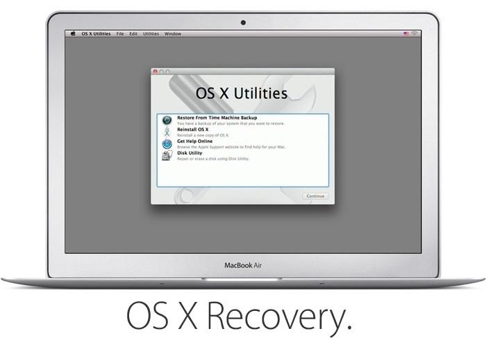 el recovery para formatear el mac