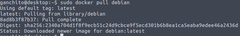 Instalar Debian en Docker