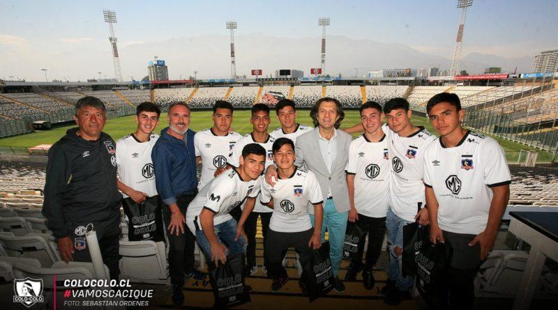 Colo Colo despidió a sus seleccionados sub 17 - CCcl SO