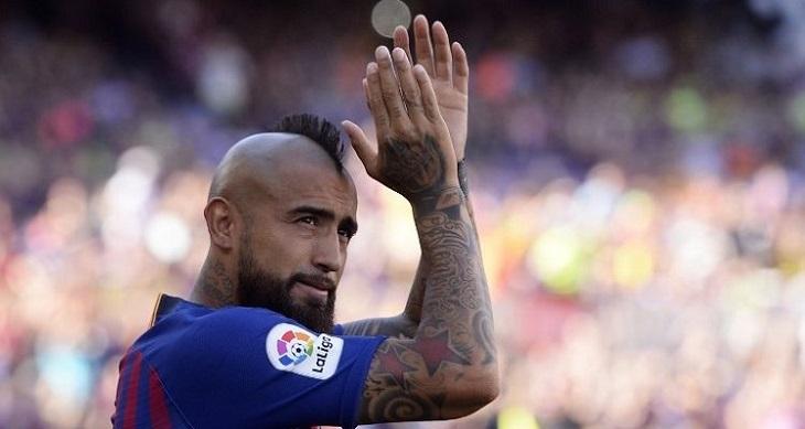 Arturo Vidal fue despedido por la cuenta de La Liga