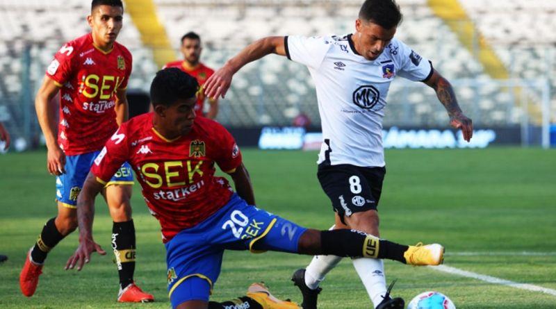Gabriel Costa anota a Unión Española jugando por Colo Colo