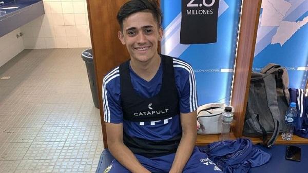 Pablo Solari ya entrena junto al plantel