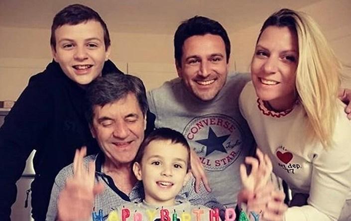 Mirko Jozic y familia Colo Colo