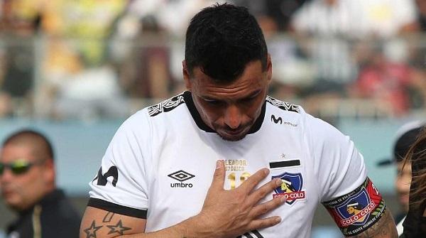 Esteban Paredes fue entrevistado tras su salida de Colo Colo