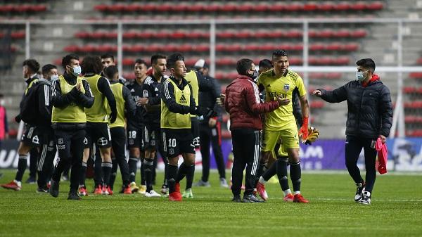 Brayan Cortés fue clave en el triunfo de Colo Colo. Créditos: Colo Colo Oficial / Sebastián Órdenes