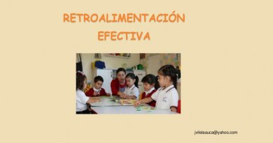 Retroalimentación efectiva, PPT MINEDU