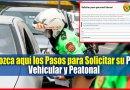 IMPORTANTE: Conozca aquí Cómo Solicitar su Pase Vehicular y Laboral [Ingrese aquí]