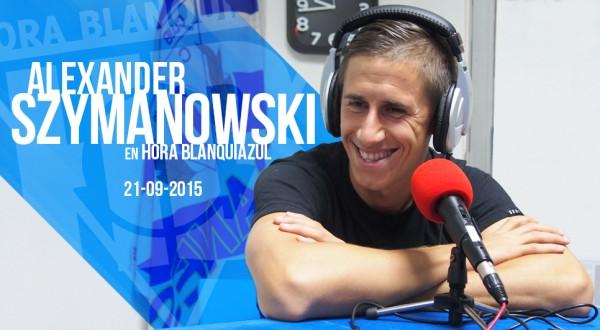 Alex Szymanowski en HB