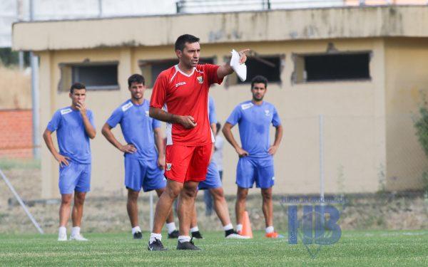 Asier Garitano en un entrenamiento