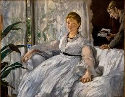 La lectura, de Eduard Manet.