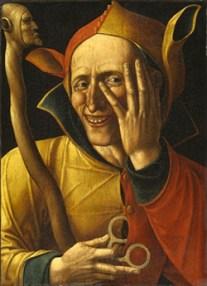 Pintura anónima. Es un clásico en la historia del arte, y también una rareza: es uno de los pocos cuadros que refleja el gesto de reír.