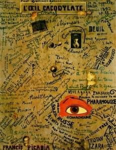 """L'oeil cacodylate"", de Picabia."