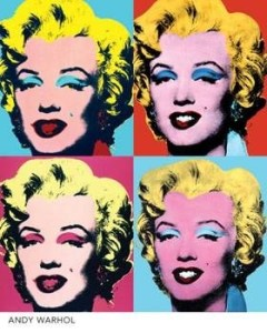 """""""Marilyn"""", según Andy Warhol."""