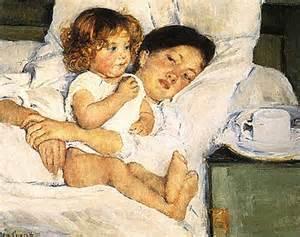 Imagen de Mary Cassat. pintora de la maternidad, admiradora de Edgard Dégas, luchadora que decidió renunciar a los hijos para dedicarse a la ardua batalla -entonces más ardua que ahora- de luchar por la igualdad en el mundo del arte.