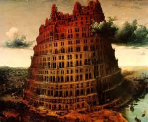 """""""la Torre de Babel"""", de Brueghel"""