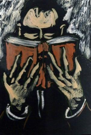 """""""Lector ávido"""", de Manuel Martín Morgado"""
