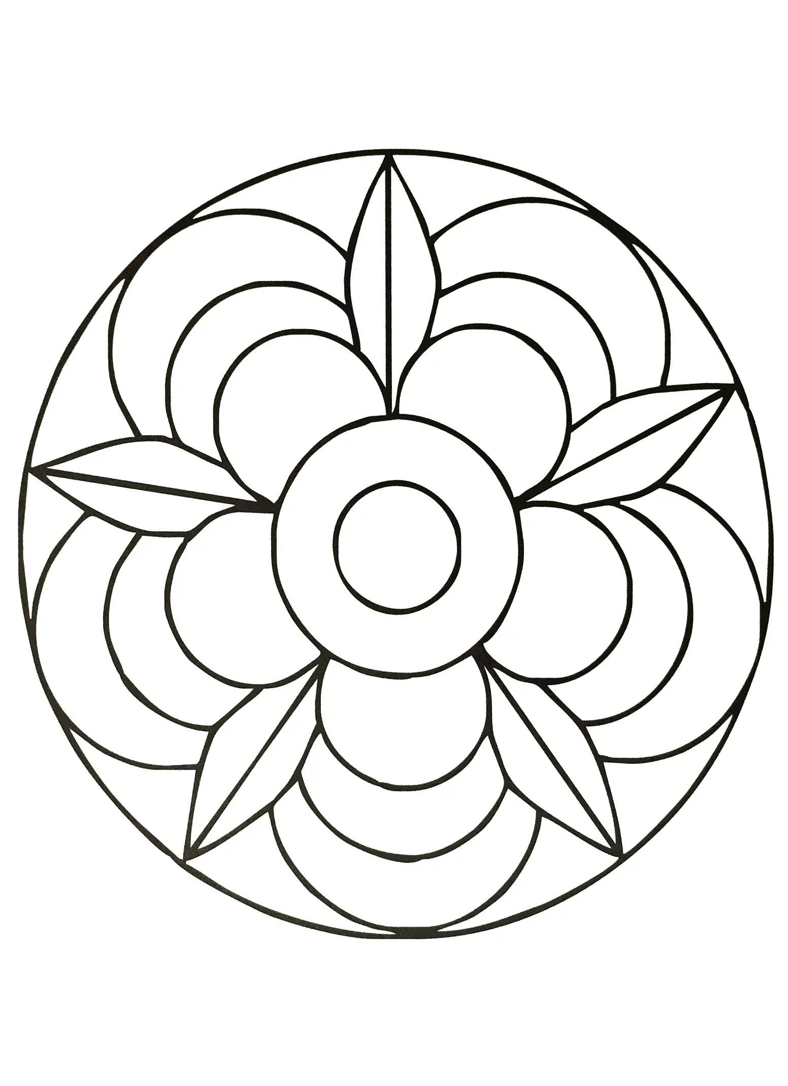 Mandalas Guia Con Imagenes De Mandalas Para Colorear Pintar Hacer Y Tejer Faciles