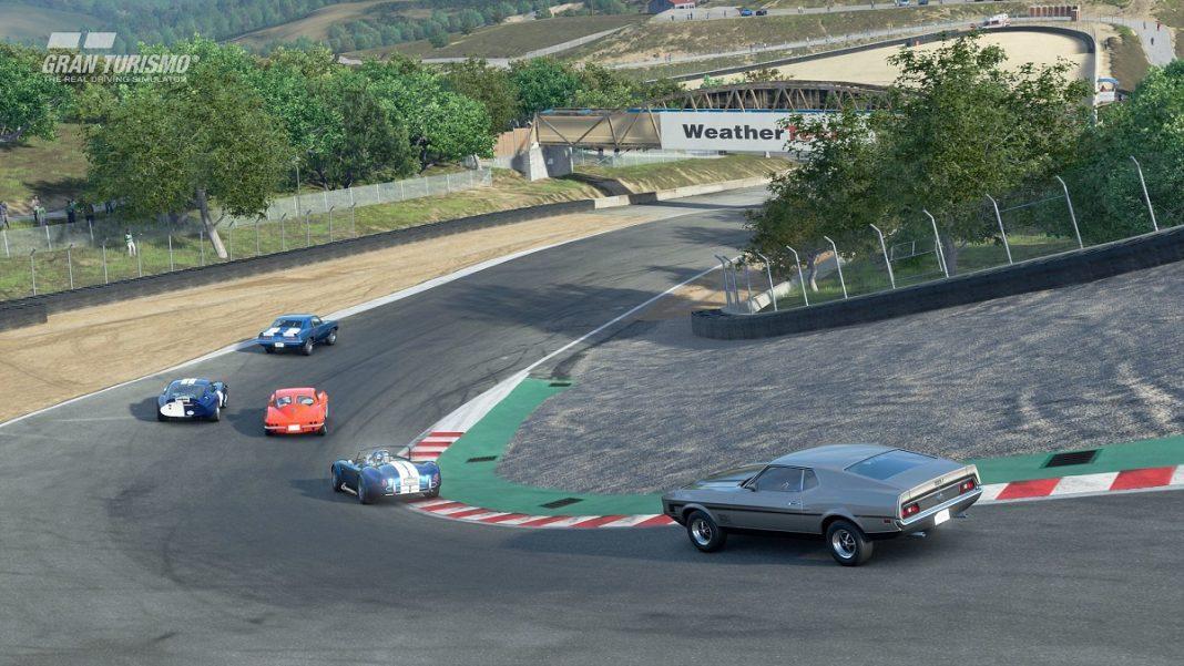 Gran Turismo Sport cierra 2019 con la llegada de Laguna Seca y siete nuevos coches
