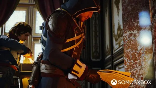 assassin's creed unity napoleon y fruto del eden