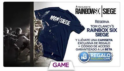 Rainbow Six Siege Camiseta